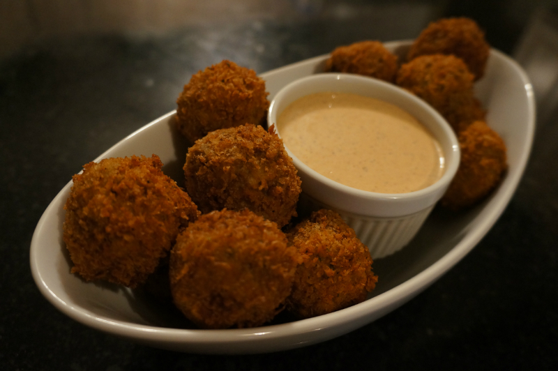 boudin balls pork boudin balls recipe on food52 fried boudin balls ...
