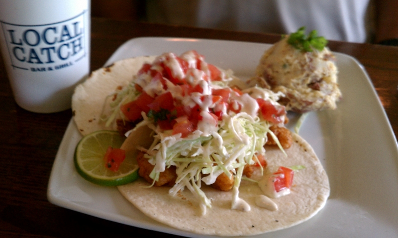 Fried Shrimp Taco