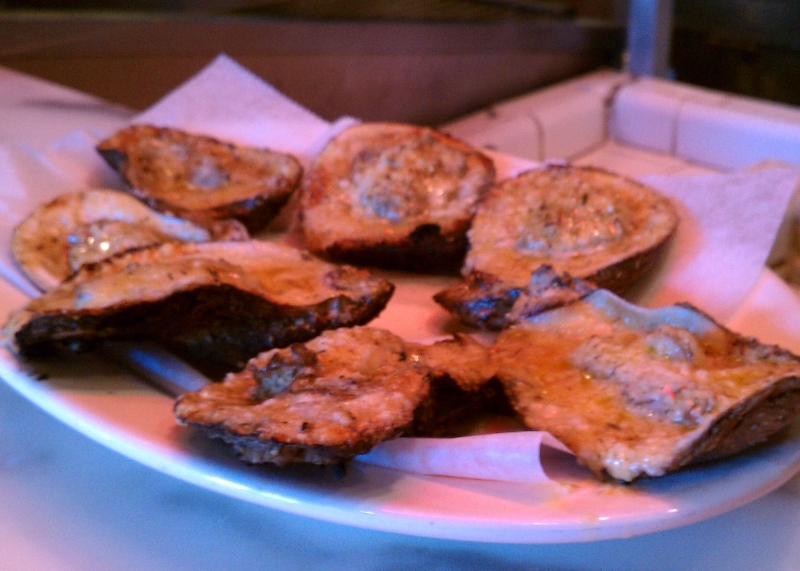 Garlicky Chargrilled Oysters