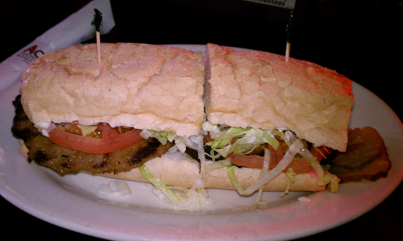 Hot Sausage Po-Boy