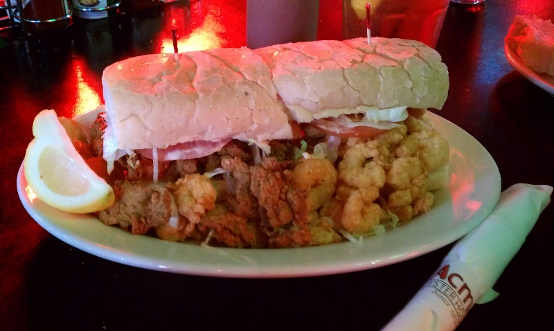 Peacemaker Seafood Po-Boy
