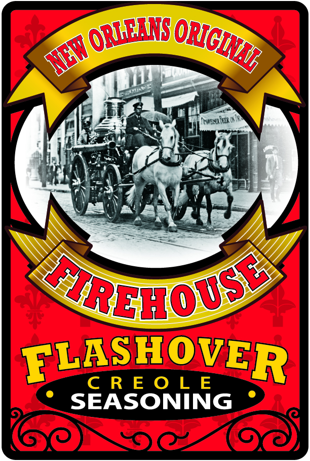 Flashover Seasoning Label